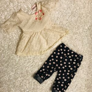Little Lass Baby Girl Matching Outfit